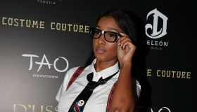 DeLeon Tequila & D'usse Mix Up Halloween At Costume Couture With Lenny S. & LaLa Anthony At TAO Downtown