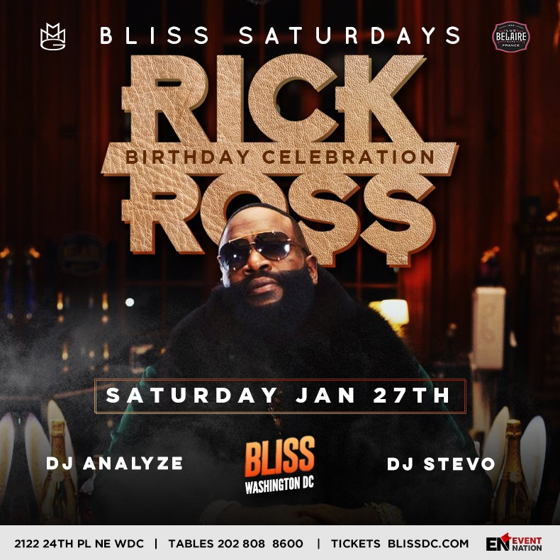 Rick Ross at Bliss