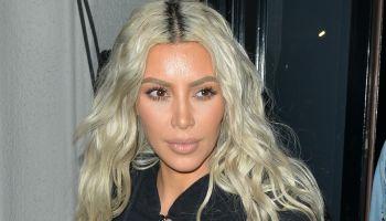 Kim Kardashian and Kanye West out for dinner at Craig's restaurant