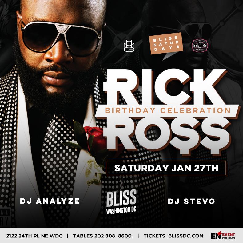 Rick Ross at Bliss