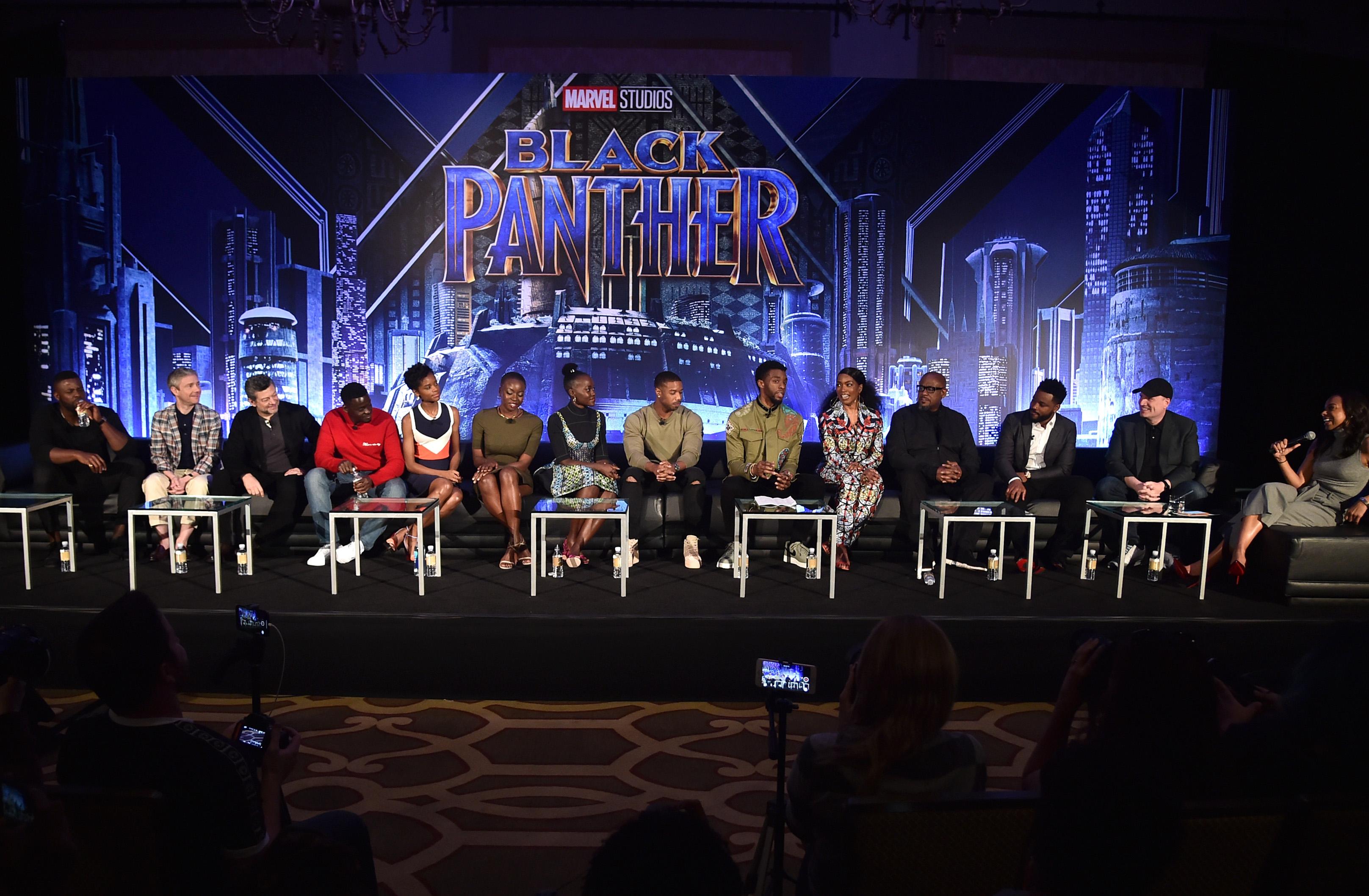 Marvel Studios' BLACK PANTHER Global Junket Press Conference