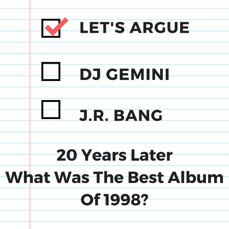 20 Years Later: Best Album Of 1998