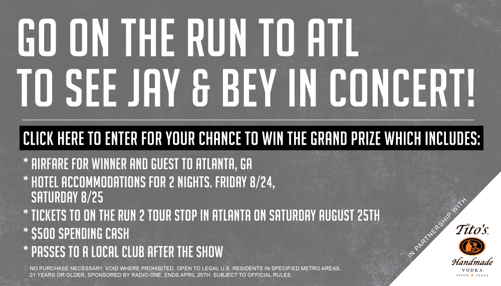 "The ""On The Run To Atlanta Flyaway"" Sweepstakes"