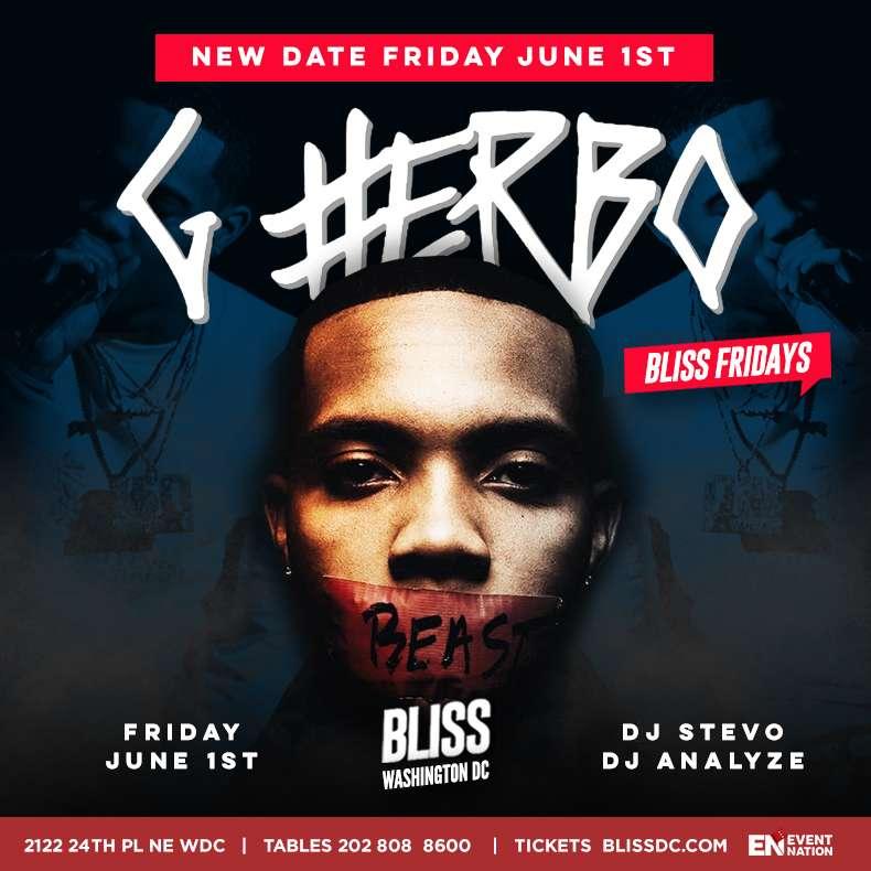 G Herbo Bliss New Date
