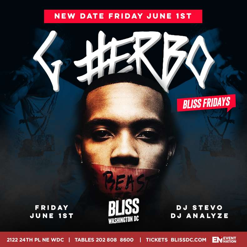 G Herbo Bliss New Date