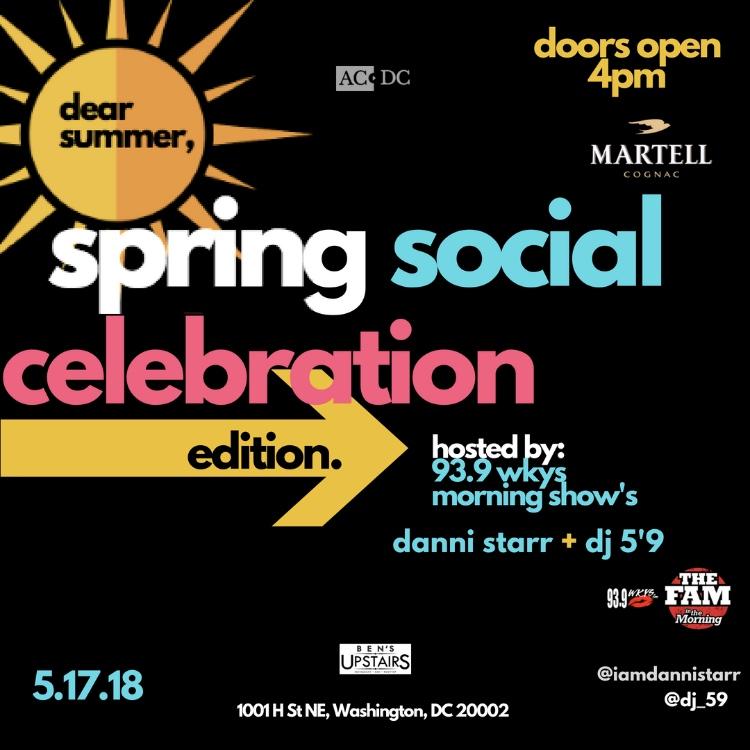 Spring Social Celebration