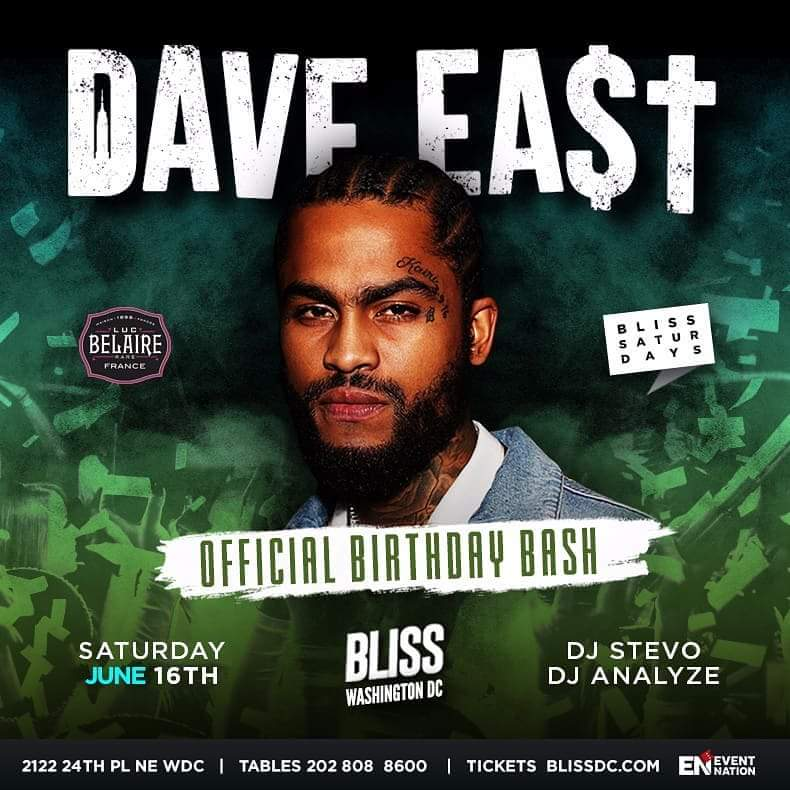 Dave East at Bliss