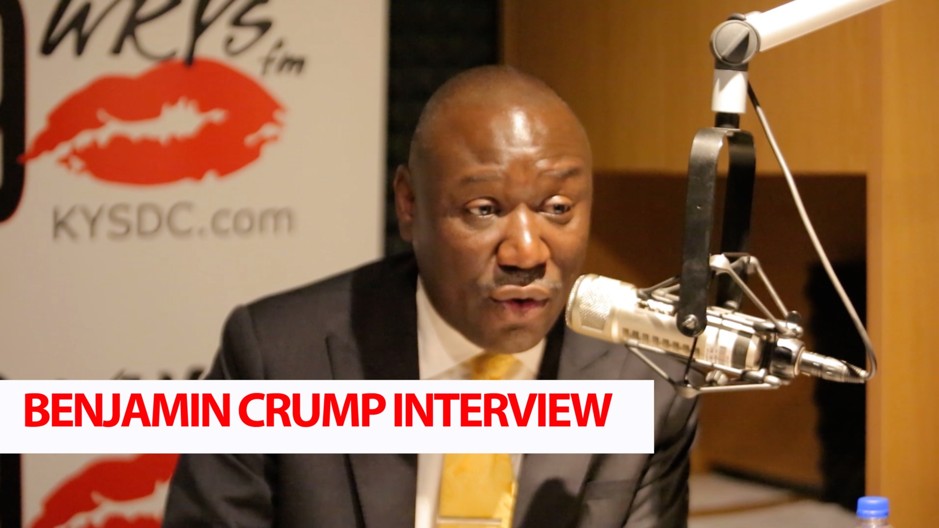 Benjamin Crump Graphic