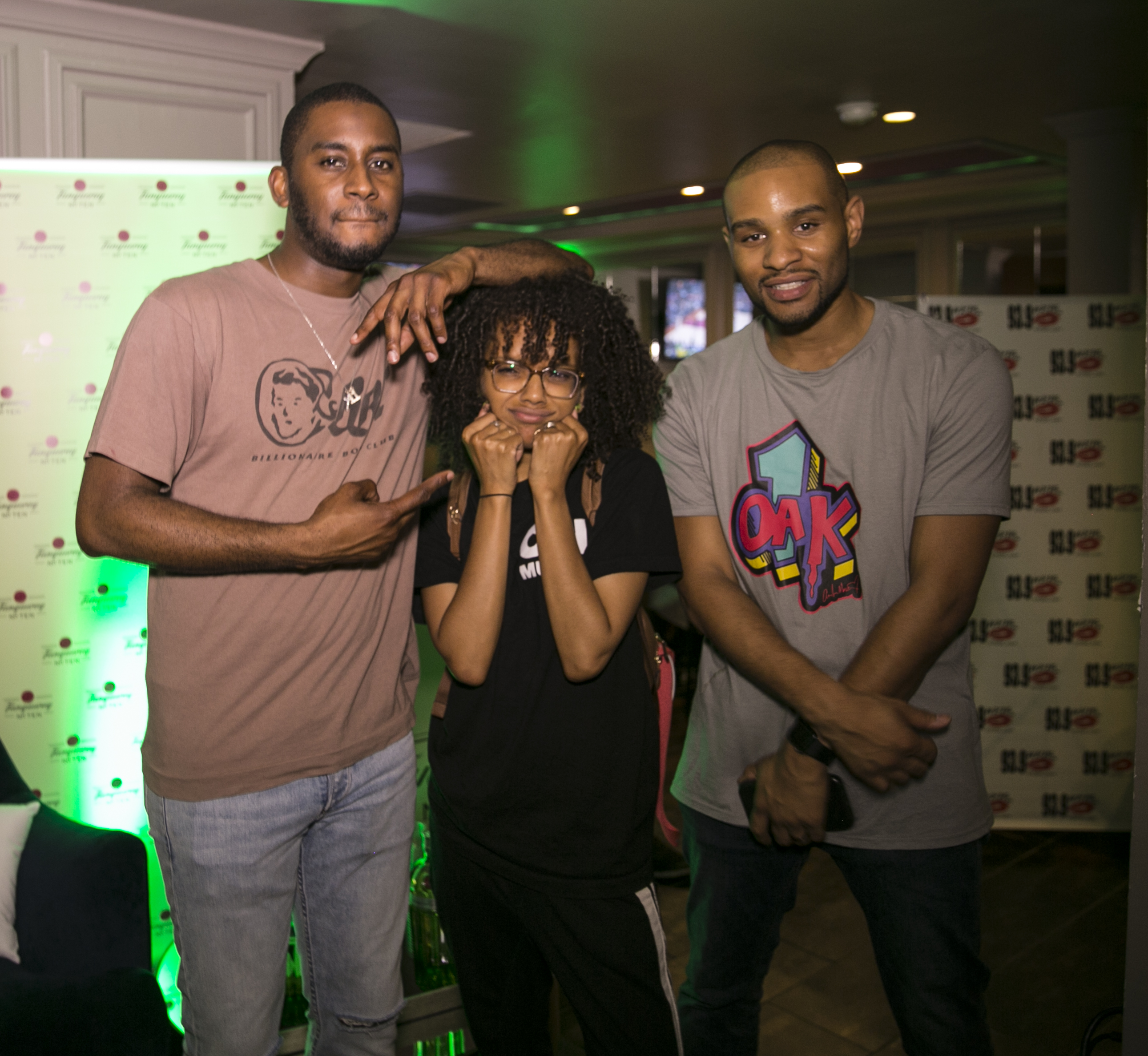 93.9 WKYS Tanqueray Takeover With Stix Watts