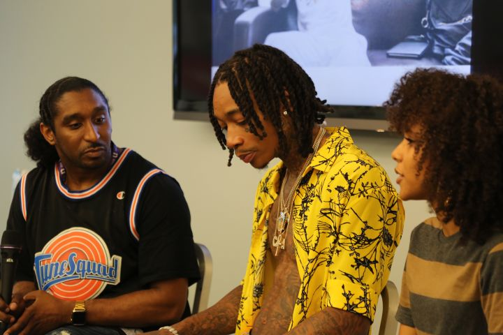 93.9 WKYS Wiz Khalifa Meet & Greet
