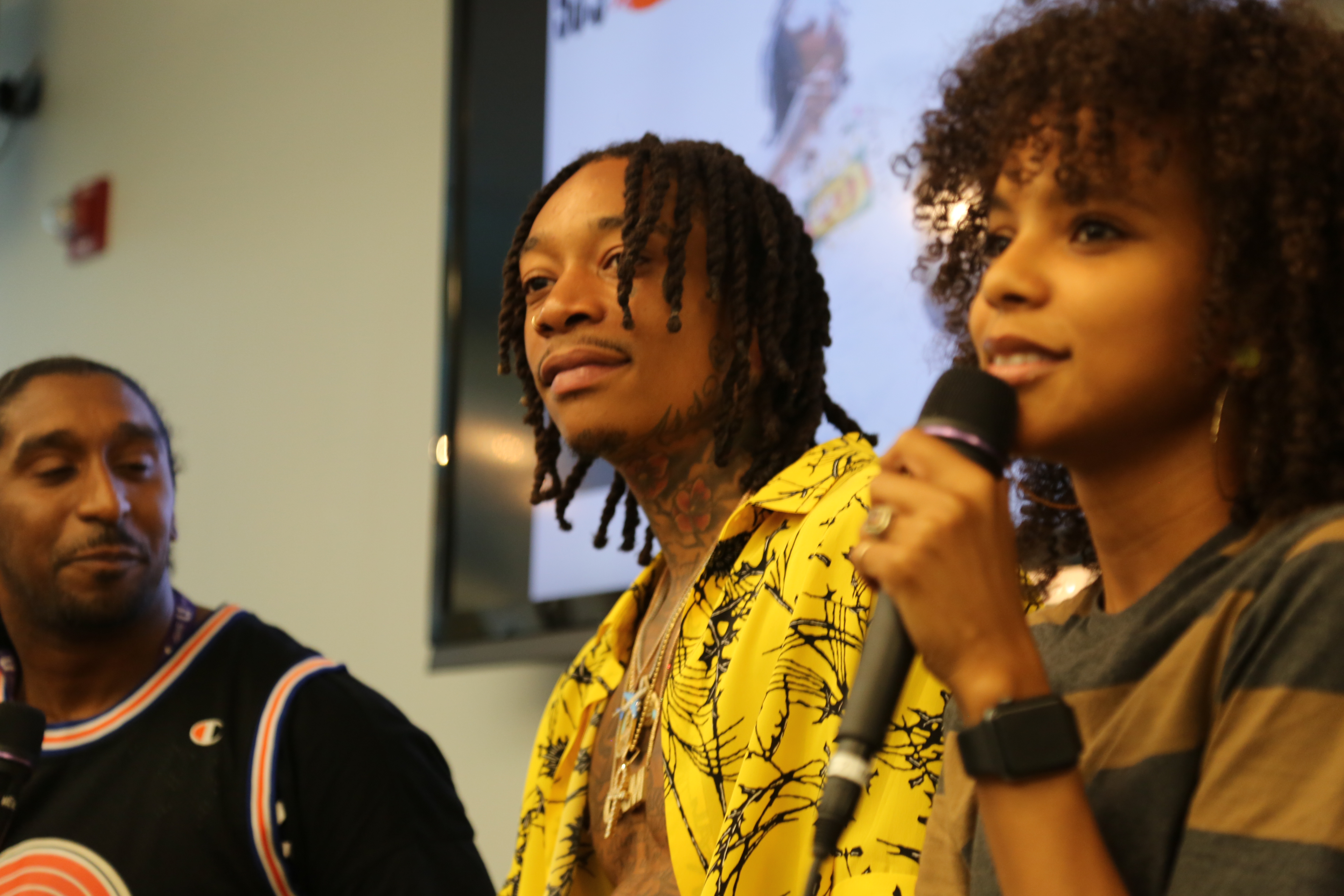 93.9 WKYS Wiz Khalifa Meet & Greet