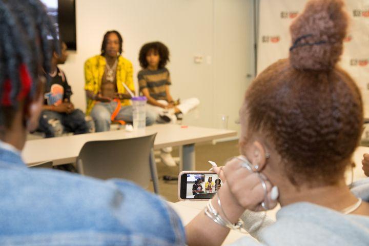 Wiz Khalifa Visits KYS