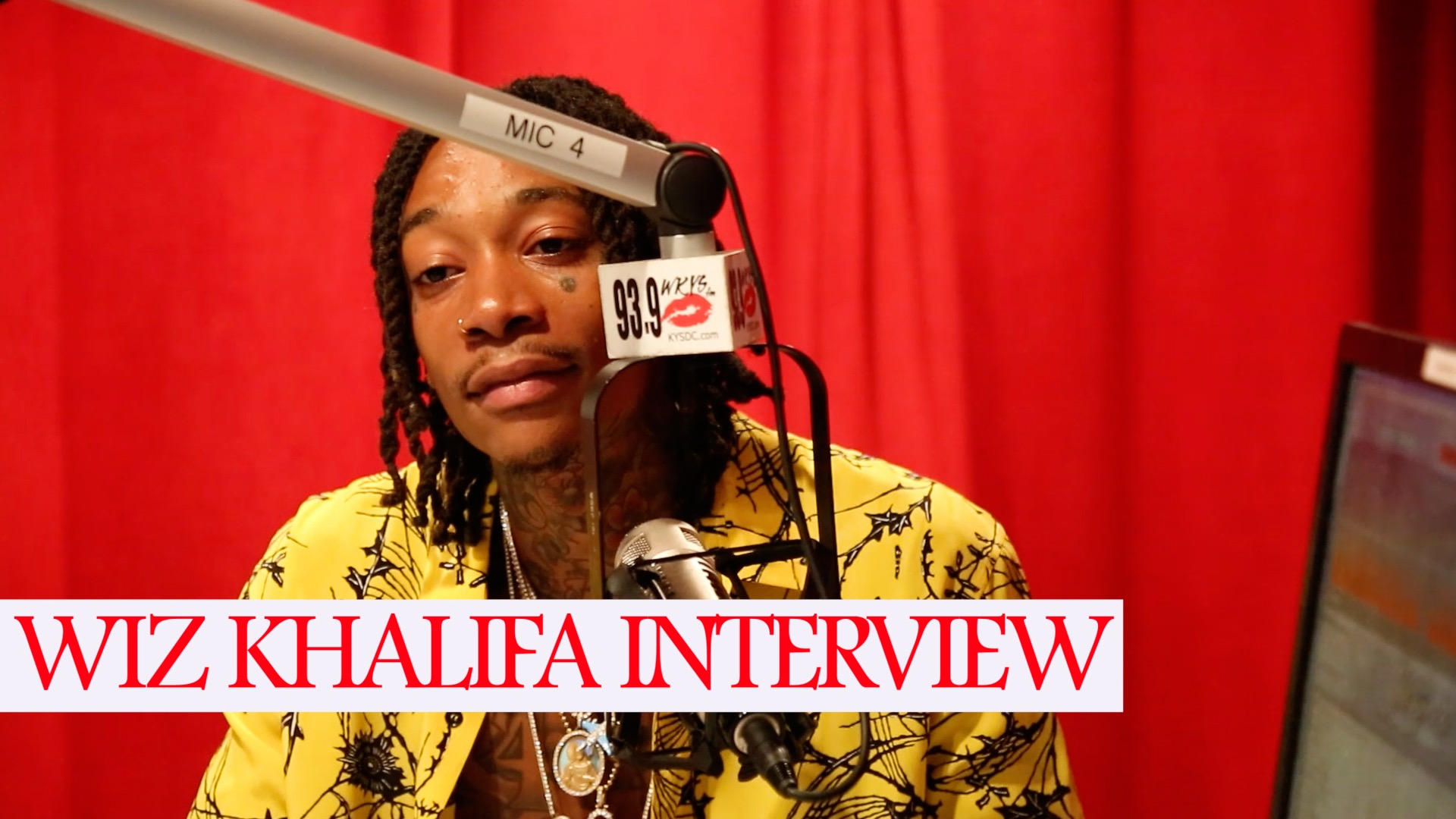 Angie Ange Wiz Khalifa Interview