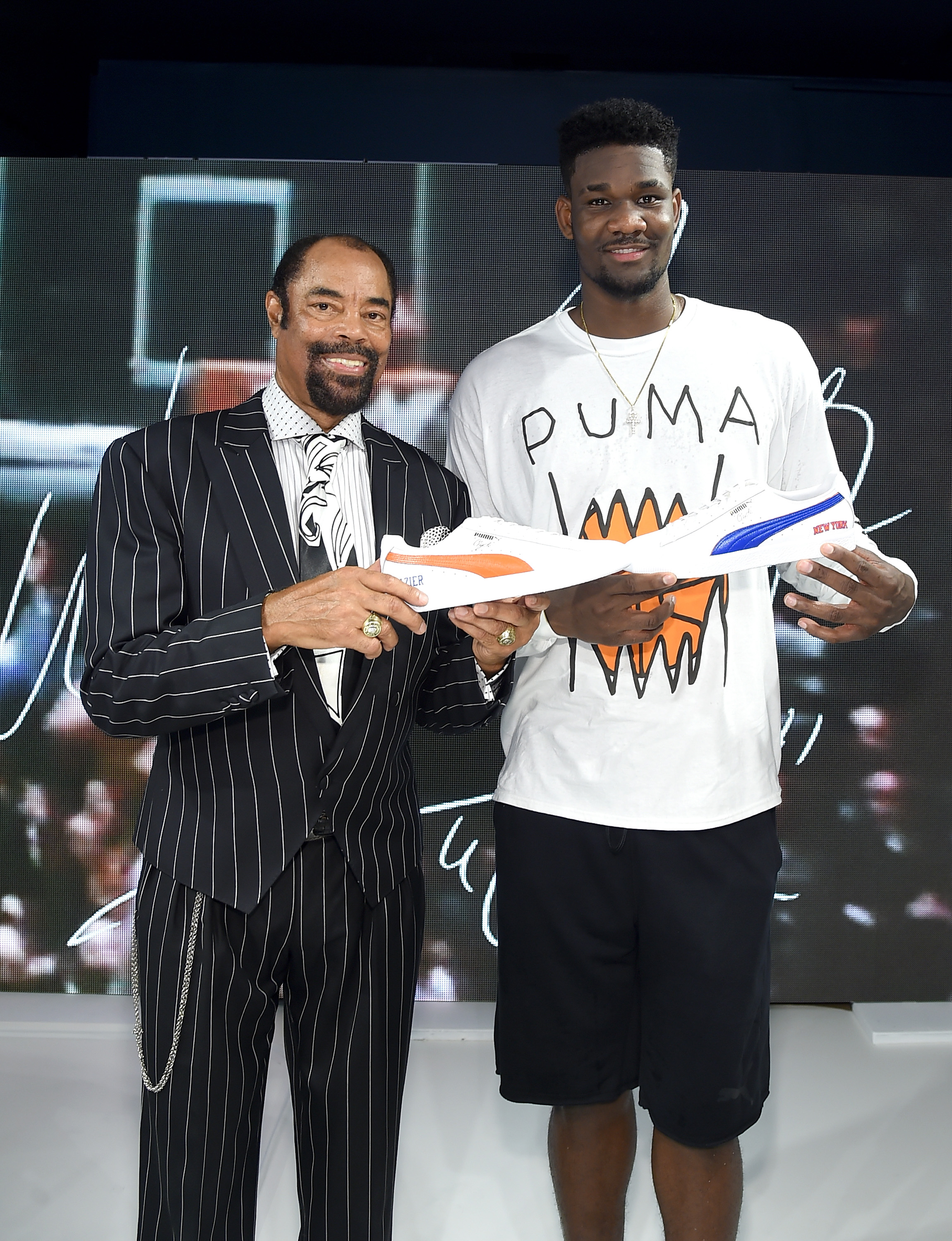 PUMA Signs First Ever Life Long Contract With Basketball Legend Walt 'Clyde' Frazier