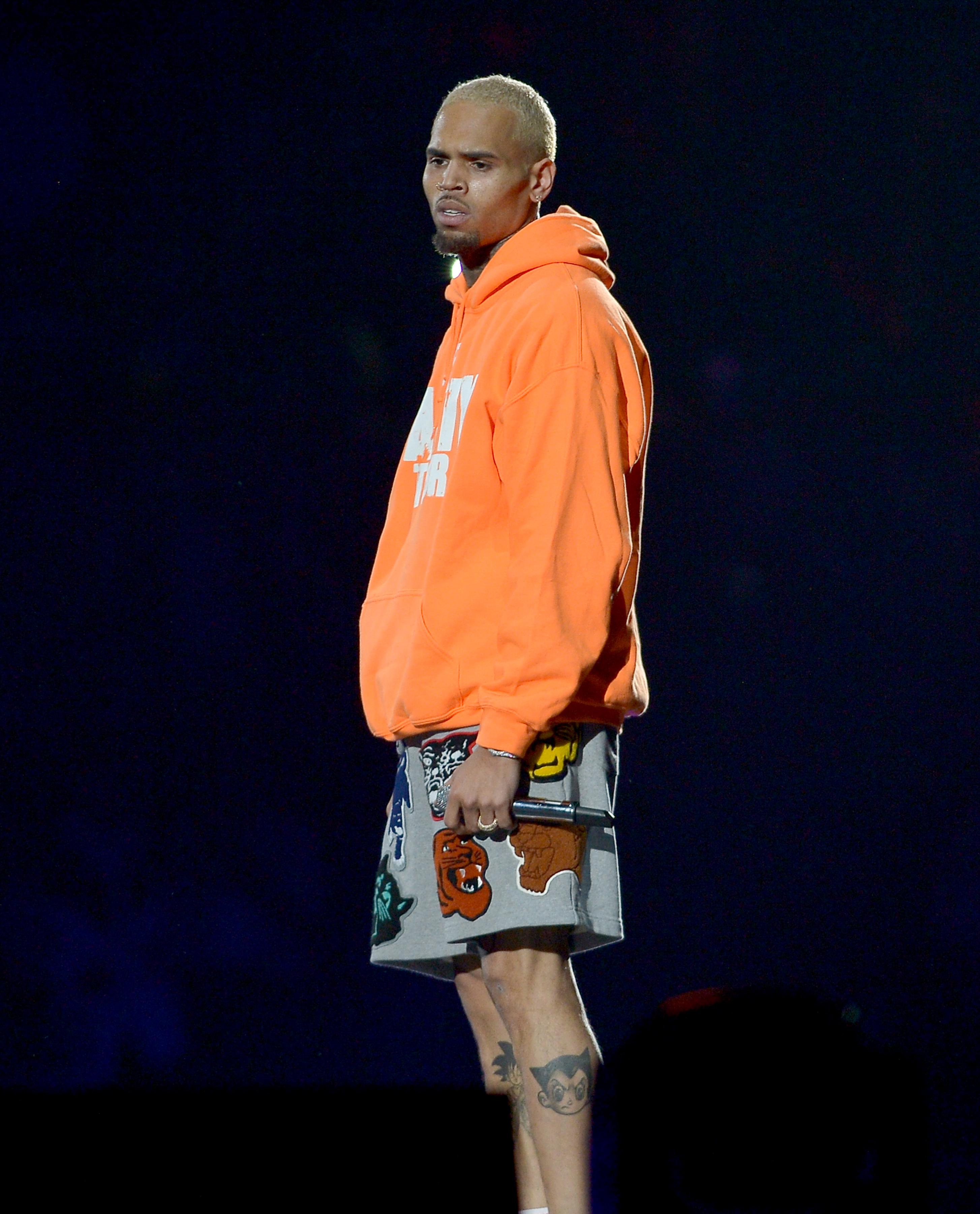 Chris Brown plays Miami