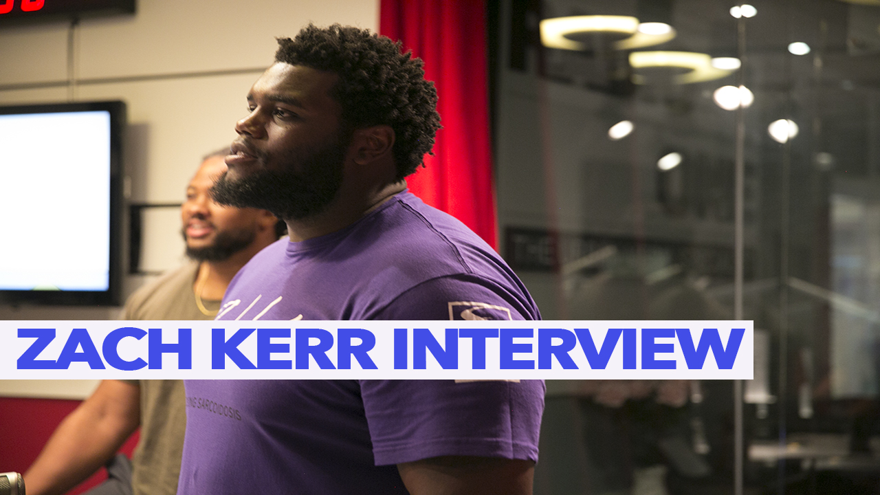 Angie Ange Interviews NFL Player Zach Kerr