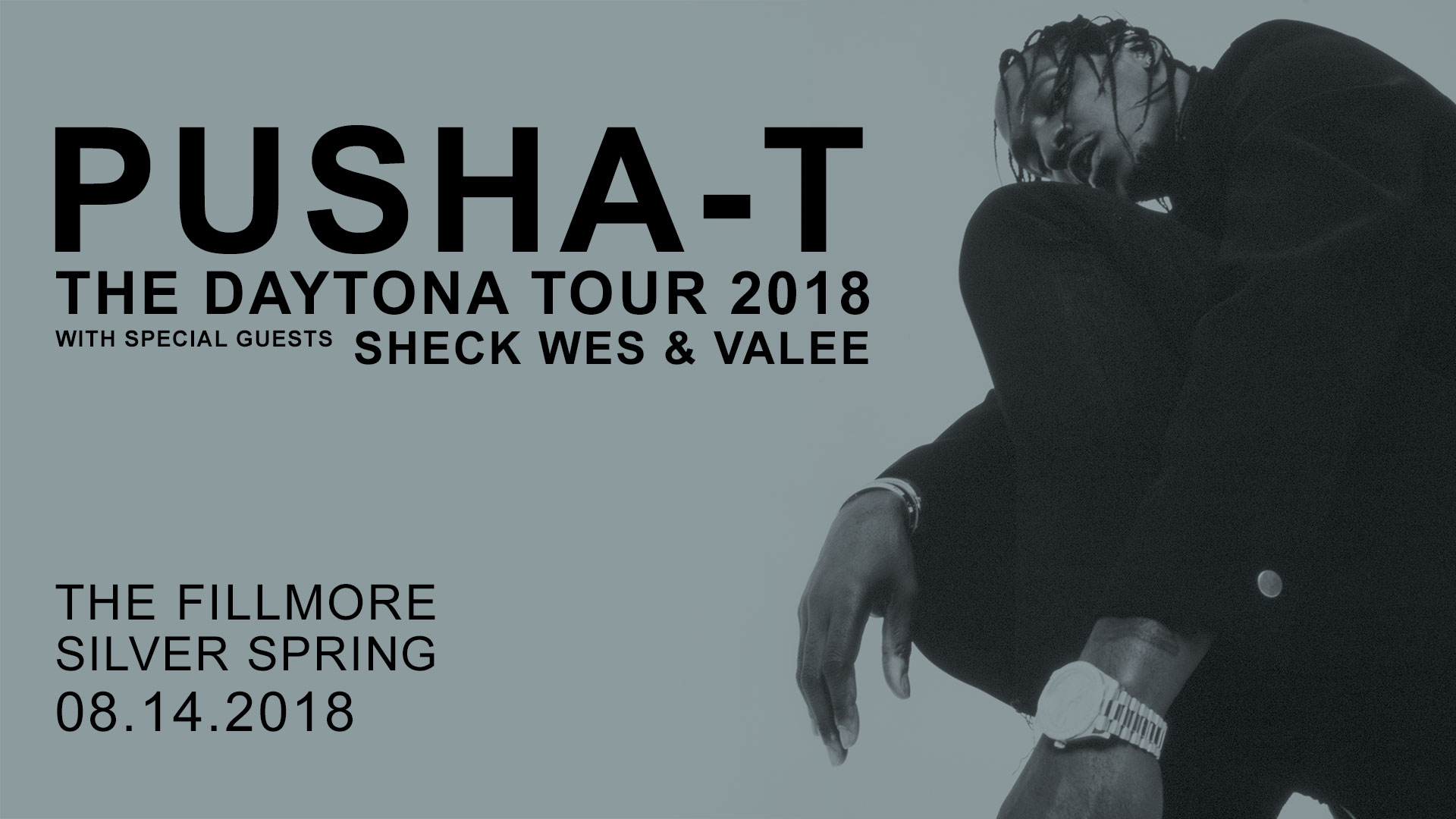 "Pusha T ""Daytona Tour"" Live At The Fillmore"