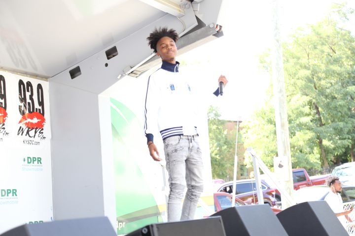 Dyson Alexander At The July 2018 KYS Block Party