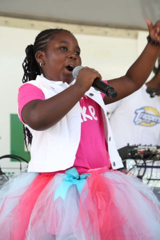 Zyah At The July 2018 KYS Block Party