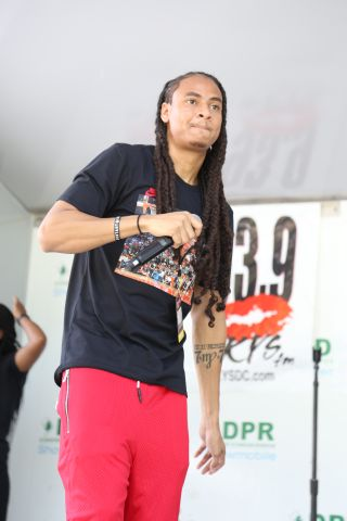 Bou At The July 2018 KYS Block Party