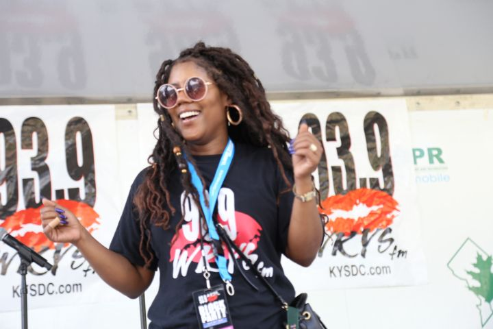 Dominique Da Diva At The July 2018 KYS Block Party