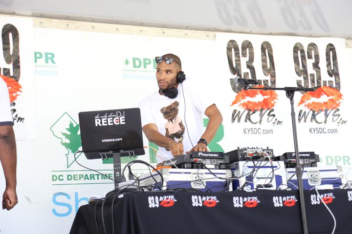 DJ Reece At The July 2018 KYS Block Party