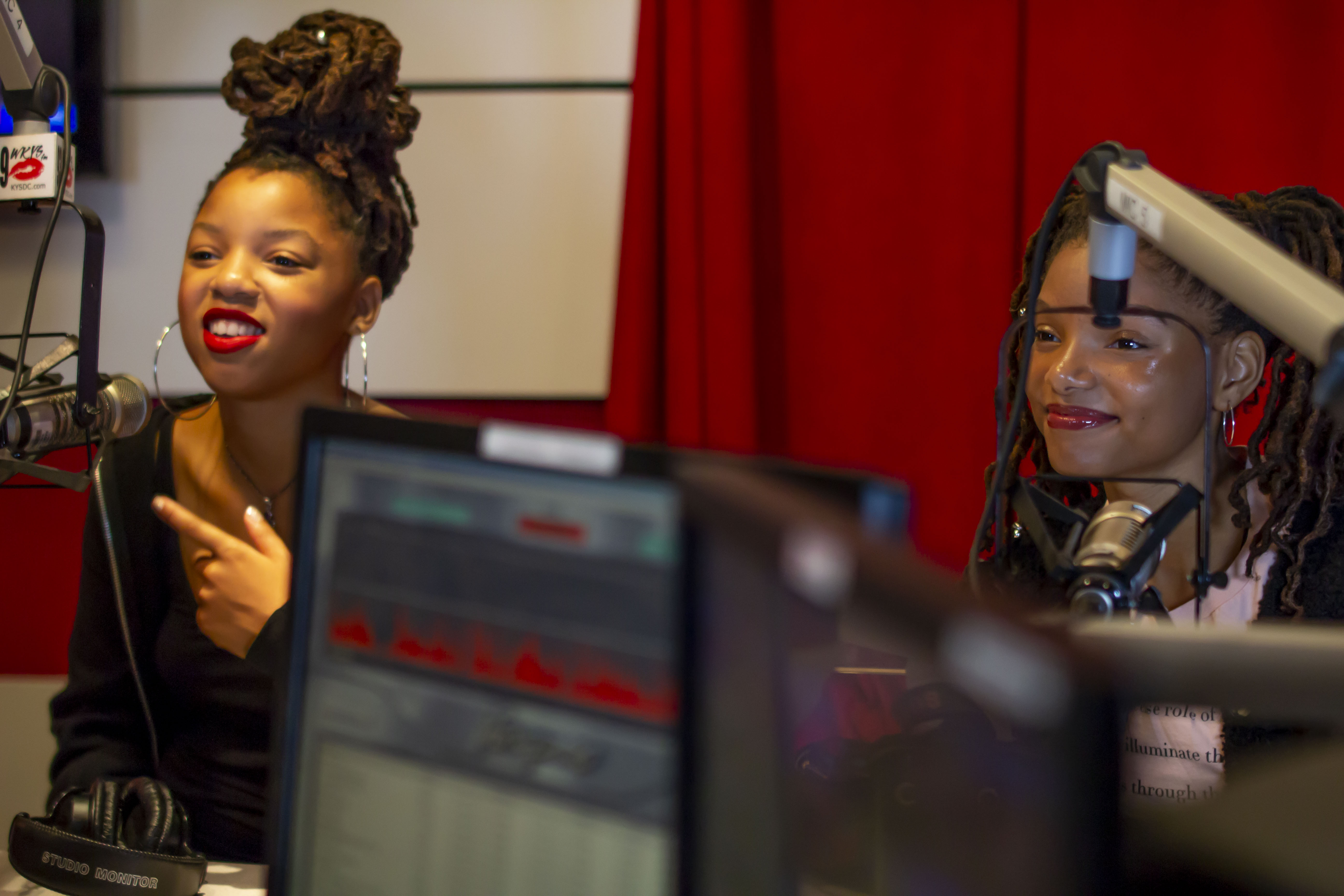 Chloe x Halle (WKYS) on Angie Ange in the Morning