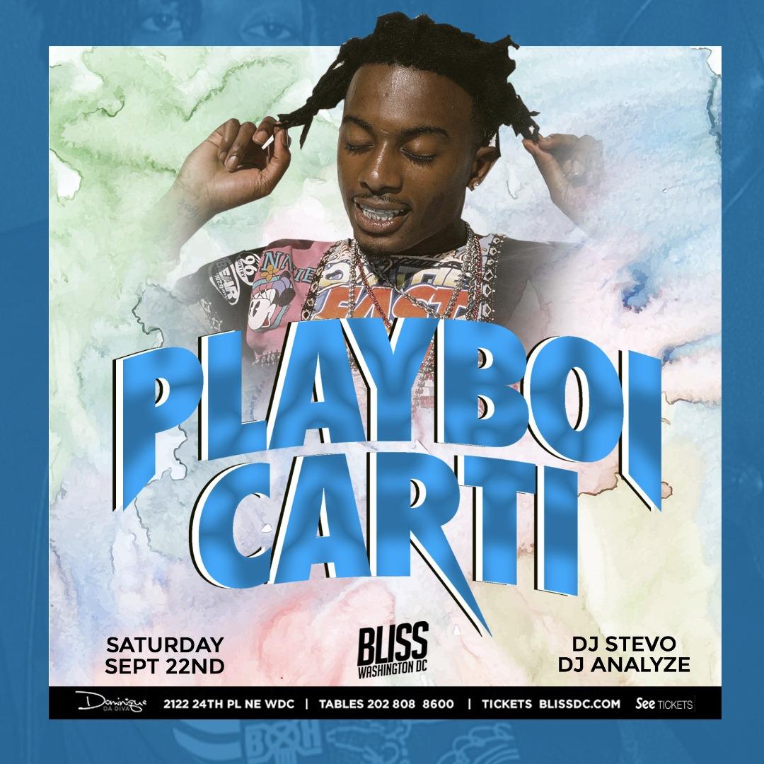 Playboi Carti at Bliss Nightclub