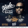 Wale Birthday Bash with Playboi Carti at Bliss Nightclub