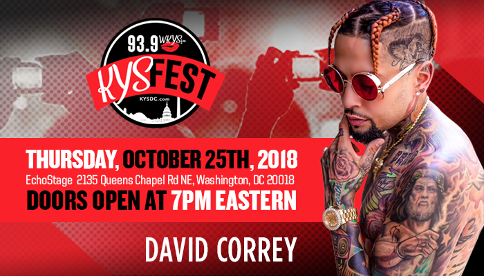 David Correy KYS Fest