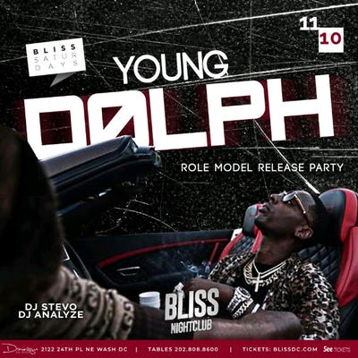 Bliss Nightclub Young Dolph