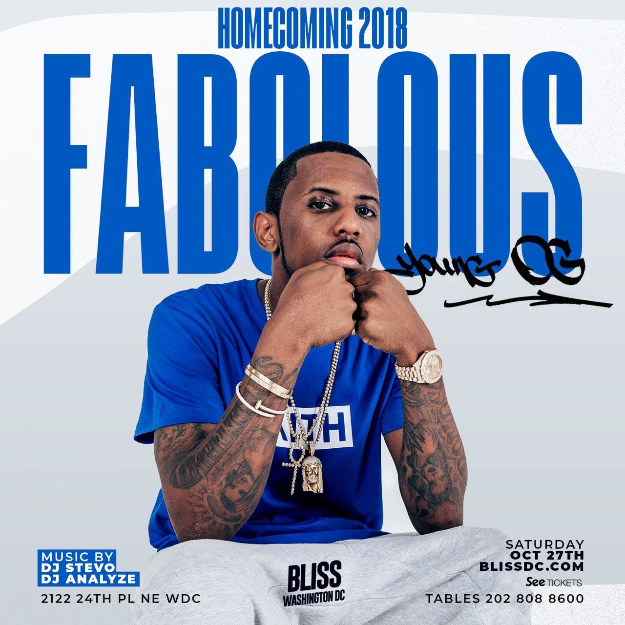 Fabolous at Bliss Nightclub