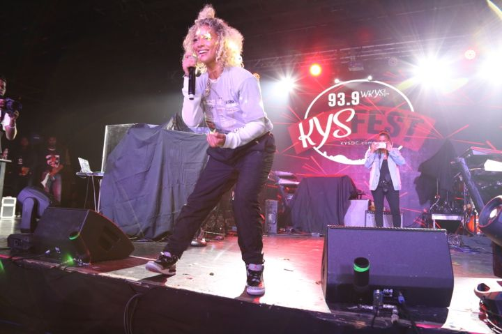 DaniLeigh At KYS Fest