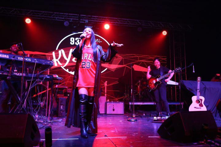 Queen Naija At KYS Fest