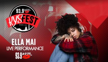 Ella Mai Live Performance