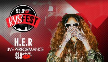H.E.R. KYS Fest Performance
