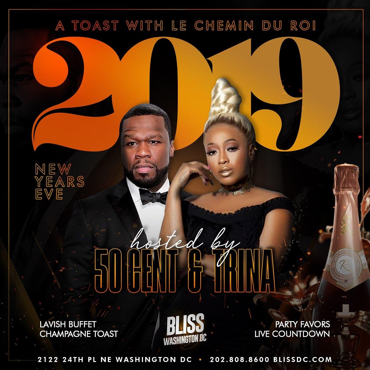 50 Cent w/ Trina - A Toast with Le Chemin Du Roi