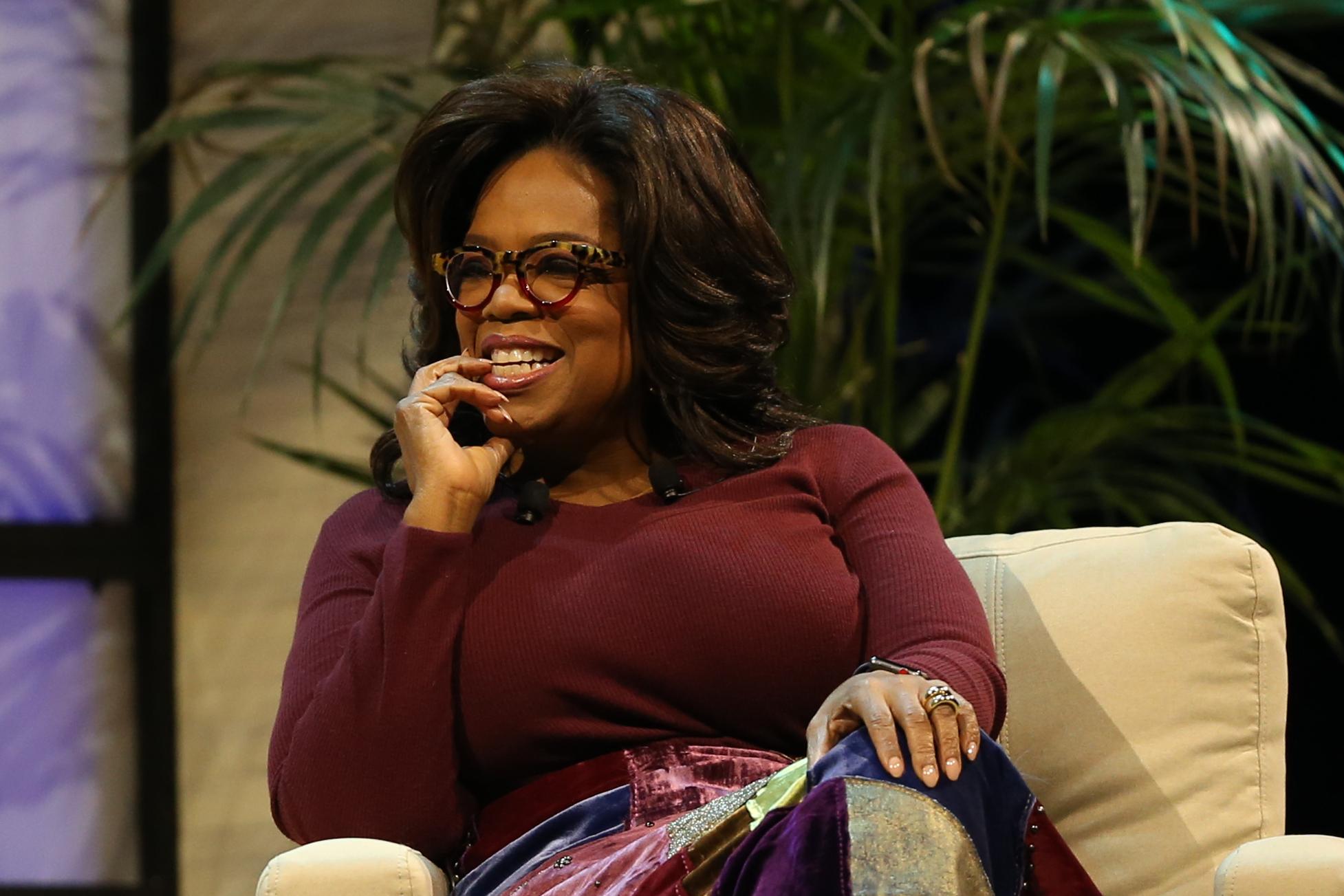 Oprah Winfrey Speaks At UMass Lowell