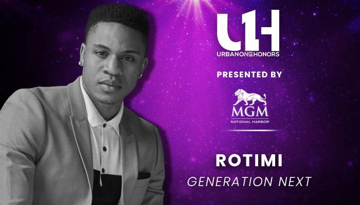 Urban One Honors: Rotimi