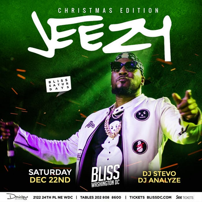 Jeezy Christmas Edition at Bliss