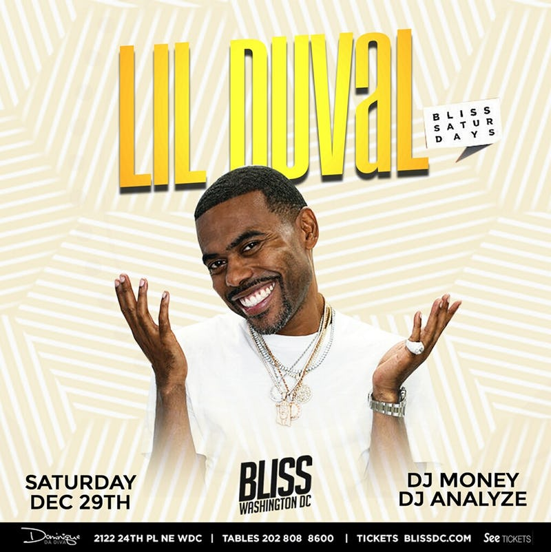 Lil Duval at Bliss Nightclub