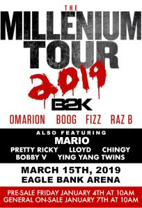 Millennium Tour B2K - 2019