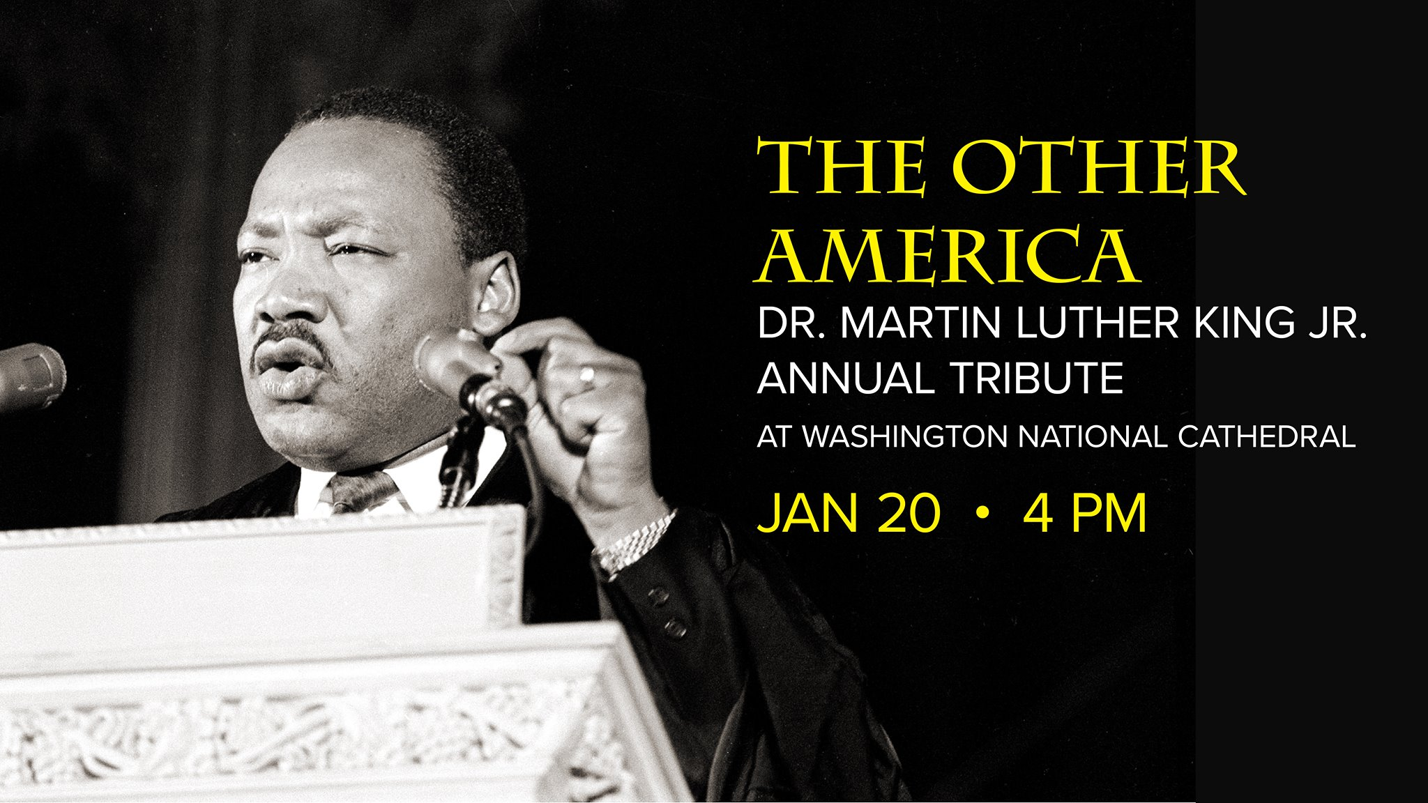 Martin Luther King Annual Tribute At The Washington National Cathedral