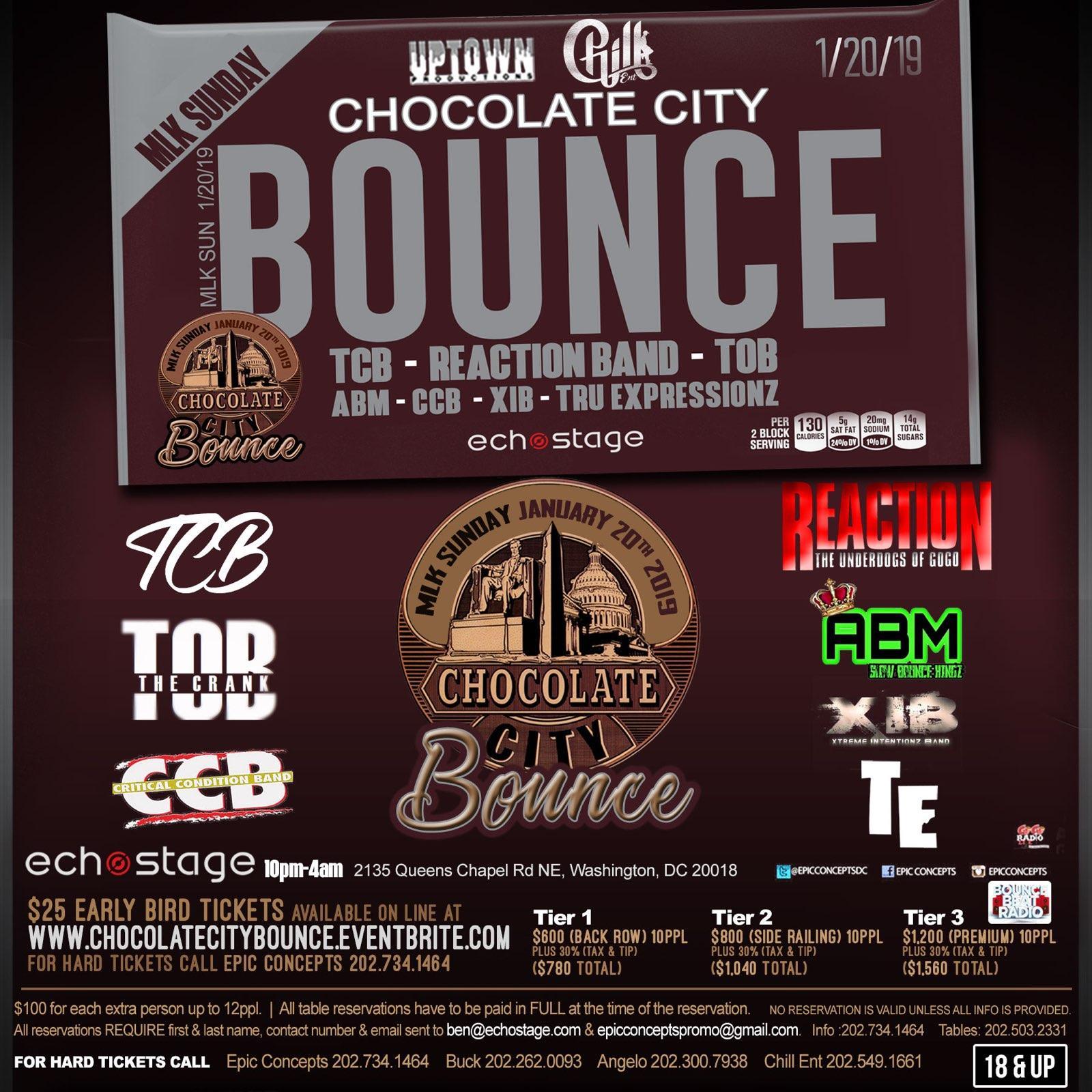 Chocolate City Bounce