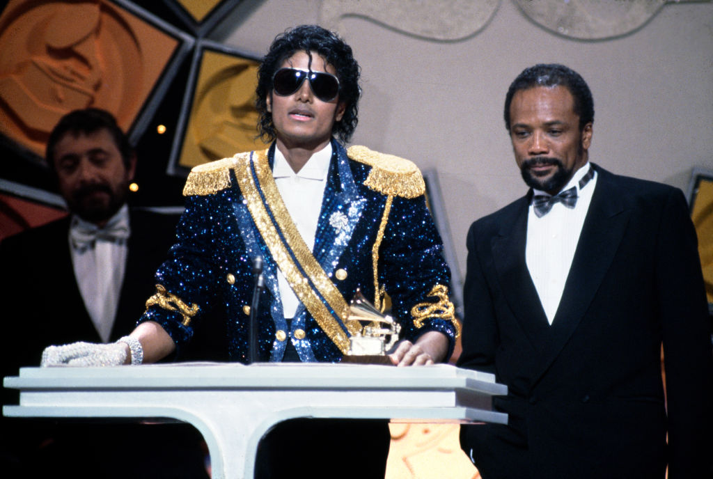 The 26th Annual Grammy Awards...
