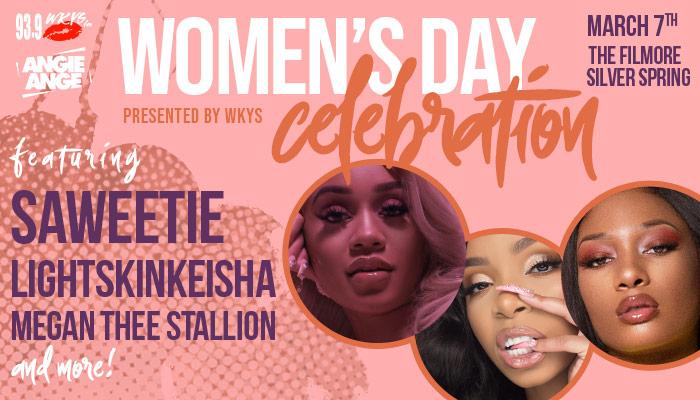 WKYS Women's Day Celebration Show