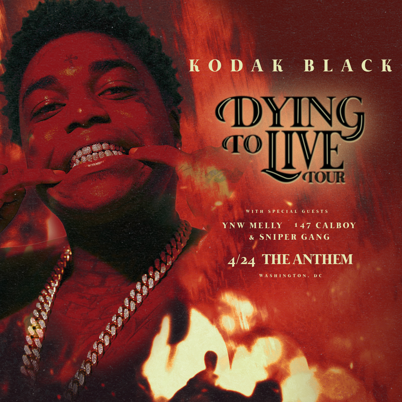 Kodak Black Dying To Live Tour