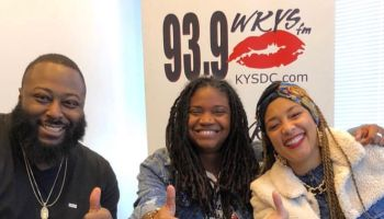 Amanda Seales With Angie Ange In The Morning