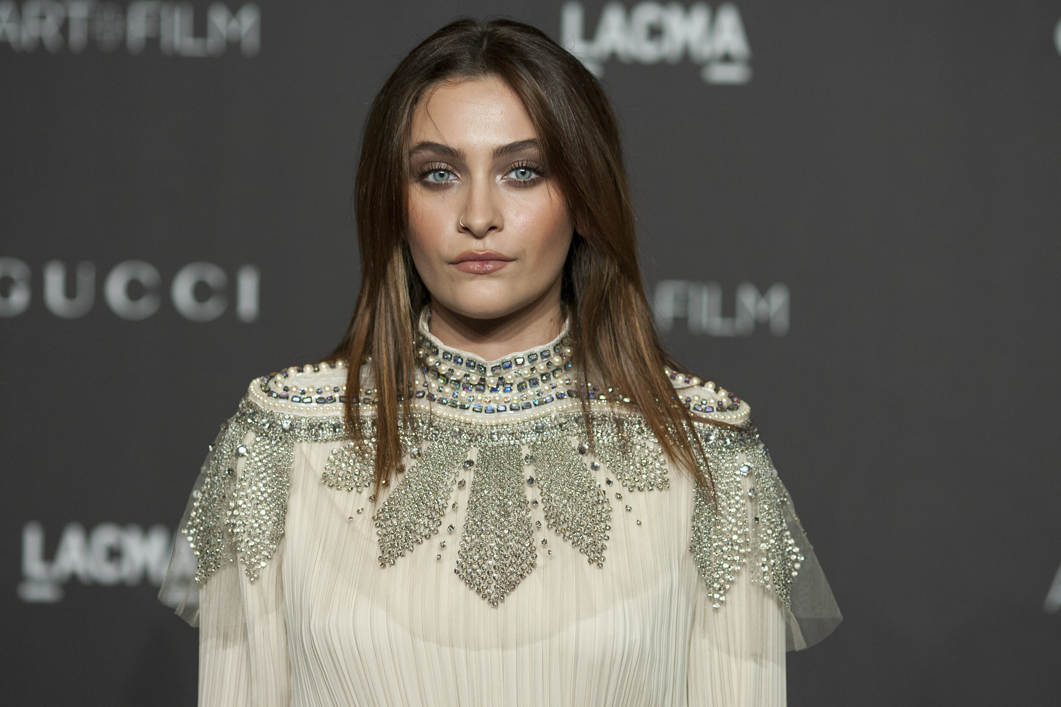 Paris Jackson Steps Out at 'The Dirt' Premiere After Hospitalization