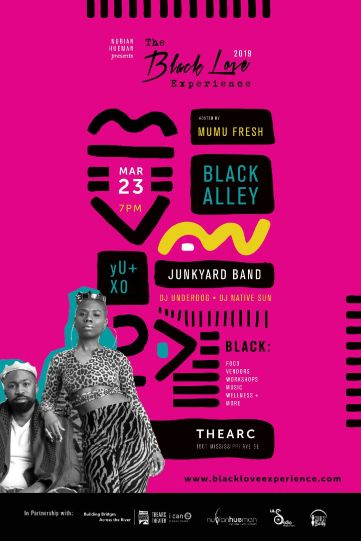 The Black Love Experience Flyer
